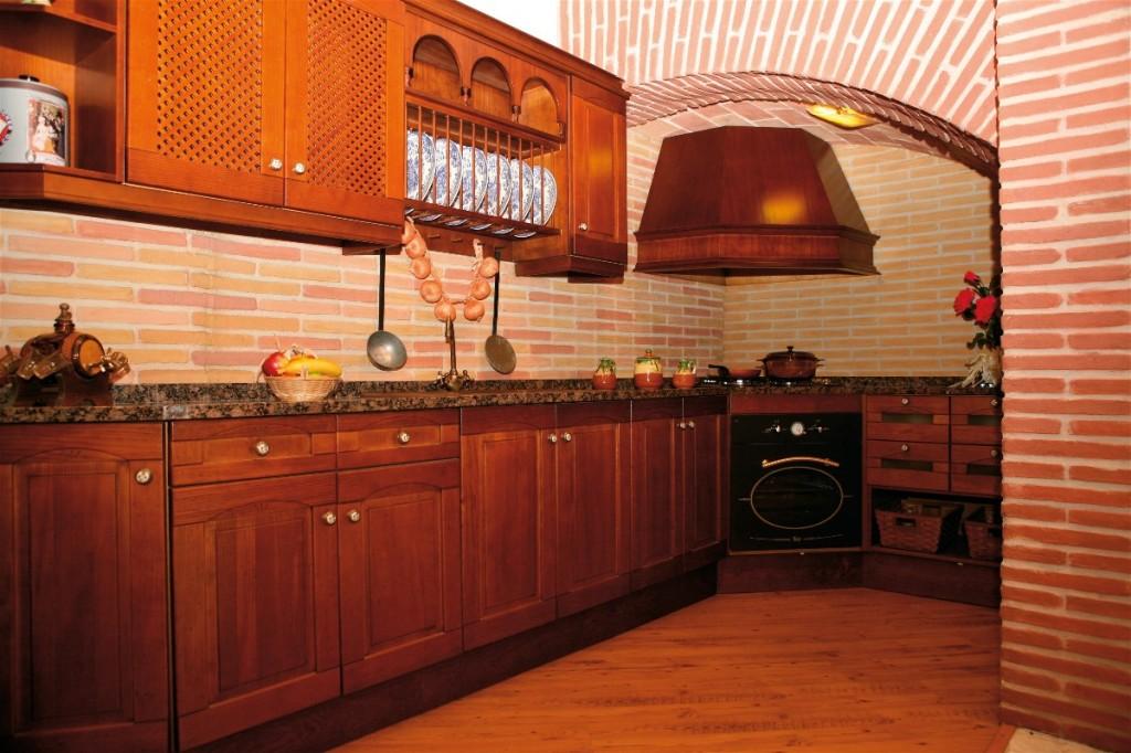 Cocina Madera rustica San Eladio