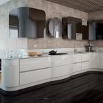 Cocina Lacado diseño curvas
